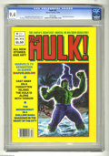 Magazines:Superhero, Hulk #18 (Marvel, 1978) CGC NM 9.4 White pages. Doug Moench story,Bob Larkin cover. Ron Wilson, Alfredo Alcala and Bill Sie...