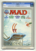 Magazines:Mad, Mad #190 (EC, 1977) CGC NM+ 9.6 Off-white to white pages. Jack Rickard cover. Mort Drucker, Angelo Torres, Don Martin, Al Ja...