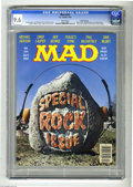 Magazines:Mad, Mad #254 Gaines File pedigree (EC, 1985) CGC NM+ 9.6 White pages. Special rock issue. Photo cover. Mort Drucker, Don Martin,...