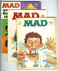 Magazines:Mad, Mad Group (EC, 1967-75) Condition: Average GD+. This group includes#105 (coverless), 106 (coverless), 108, 109, 110, 111, 1... (Total:34 Comic Books Item)