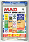 Bronze Age (1970-1979):Humor, Mad Super Special #16 (EC, 1975) CGC NM 9.4 Off-white to whitepages. Al Jaffee art. Includes double fold-out Mad-hesive sti...