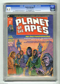 Magazines:Science-Fiction, Planet of the Apes #1 (Marvel, 1974) CGC VF+ Off-white to whitepages. Adaptation of the original movie. Bob Larkin cover ar...