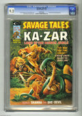 Magazines:Miscellaneous, Savage Tales #8 (Marvel, 1975) CGC NM- 9.2 White pages. JohnBuscema art. Steve Fabian cover. Featuring Ka-Zar. Shanna the S...