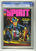 Magazines:Superhero, The Spirit #1 (Warren, 1974) CGC NM- 9.2 Off-white to white pages.Basil Gogos and Will Eisner cover art. Eisner frontispiec...