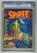 "Magazines:Superhero, The Spirit #2 (Warren, 1974) CGC NM 9.4 White pages. ""The Spirit'sDead Letters"" page begins, containing letters from Wally ..."