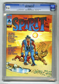 Magazines:Superhero, The Spirit #5 (Warren, 1974) CGC NM+ 9.6 White pages. Ebonyinterviews P'Gell. Eight pages in color. Will Eisner and Ken Kel...
