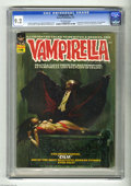 Magazines:Horror, Vampirella #16 (Warren, 1971) CGC NM- 9.2 Off-white pages. First full Dracula appearance in this title. Manuel Sanjulian cov...