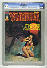 Vampirella #33 (Warren, 1974) CGC NM+ 9.6 Off-white to white pages. Pantha series ends. Enrich Torres cover art. Jeff Jo...