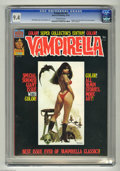 Bronze Age (1970-1979):Horror, Vampirella #55 (Warren, 1976) CGC NM 9.4 Off-white pages. BillDuBay story and Jose Gonzalez art. 1976 Yearbook. Overstreet ...