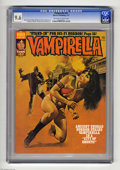 Magazines:Horror, Vampirella #57 (Warren, 1977) CGC NM+ 9.6 Off-white to white pages. Enrich Torres cover. Carmine Infantino, Esteban Maroto, ...