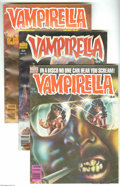 Magazines:Horror, Vampirella Group (Warren, 1980-83) Condition: Average FN. This lot consists of issues #84, 85, 93, and 112 (last Warren issu... (Total: 4 Comic Books Item)