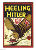 Books:First Editions, Heeling Hitler (1940) Condition: VG-. Circa 1940's. A collection ofeditorial cartoons from the Vancouver Daily Province, al...