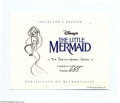"Books:Signed Editions, Walt Disney's ""The Little Mermaid"" Sketch Book Series, LimitedEdition #655/2500 (Applewood Books, 1997) This handsome volum..."