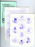 Magazines:Fanzine, Miscellaneous Comic Fanzine Group (Various, 1963-1978) Condition: Average FN. An Authorative Index to All Star Comics, ... (Total: 22 items Item)