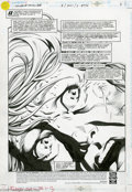 Original Comic Art:Splash Pages, Mike Deodato, Jr. and Vince Russell - Legends of the DC Universe#4, page 1 Original Art (DC, 1998). Mike Deodato Jr.'s penc...