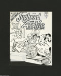 Original Comic Art:Covers, Stan Goldberg and Mike Esposito - Jughead with Archie DigestMagazine #130 Cover Original Art (Archie, 1996). Jughead has a ...