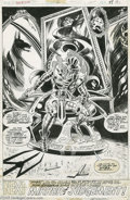 Original Comic Art:Splash Pages, Ed Hannigan and Sonny Trinidad - Son of Satan #6, page 31 OriginalArt (Marvel, 1976). Welcome to the Court of Anubis, Hells...