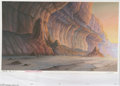 Original Comic Art:Miscellaneous, Heavy Metal 2000 Background Original Art (Heavy Metal, 2000). If you want to own an original background from this feature fi...