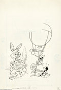Original Comic Art:Covers, Dick Moores (attributed) - Walt Disney Showcase #28 Cover OriginalArt (Gold Key, 1975). Brer Rabbit shares the limelight wi...(Total: 2 items Item)