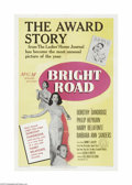 Movie Posters:Drama, Bright Road (MGM, 1953)...
