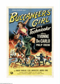 Movie Posters:Action, Buccaneer's Girl (Universal International, 1950)...