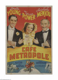 Movie Posters:Drama, Cafe Metropole (20th Century Fox, 1937)...