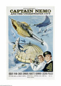 Movie Posters:Adventure, Captain Nemo and the Underwater City (MGM, 1969)...