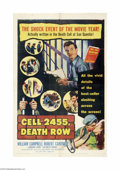 Movie Posters:Crime, Cell 2455 Death Row (Columbia, 1955)...