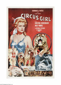 Movie Posters:Adventure, Circus Girl (Republic, 1956)...