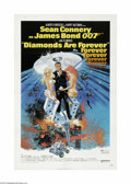 Movie Posters:Action, Diamonds Are Forever (United Artists, 1971)...