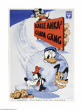 Movie Posters:Animated, Donald's Snow Fight (RKO, 1942)...