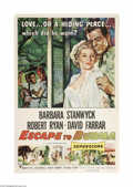 Movie Posters:Adventure, Escape to Burma (RKO, 1955)...