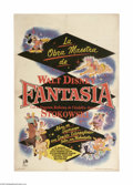 Movie Posters:Animated, Fantasia (RKO, R-1956)...