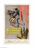 Movie Posters:Horror, I Was a Teenage Werewolf (AIP, 1957)...