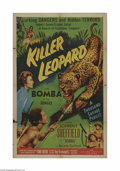 Movie Posters:Adventure, Killer Leopard (Allied Artists, 1954)...
