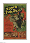 Movie Posters:Adventure, Lord of the Jungle (Allied Artists, 1955)...