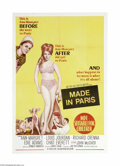 Movie Posters:Comedy, Made in Paris (MGM, 1966)...