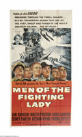 Movie Posters:War, Men of the Fighting Lady (MGM, 1954)...