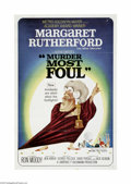 Movie Posters:Comedy, Murder Most Foul (MGM, 1964)...