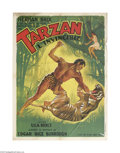 Movie Posters:Serial, The New Adventures of Tarzan (Burroughs-Tarzan-Enterprise, 1935)...