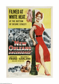 Movie Posters:Crime, New Orleans Uncensored (Columbia, 1955)...