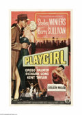 Movie Posters:Drama, Playgirl (Universal International, 1954)...