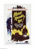 Movie Posters:Crime, Please Murder Me (DCA, 1956)...