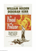 Movie Posters:War, The Proud and Profane (Paramount, 1956)...