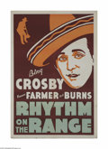 Movie Posters:Western, Rhythm on the Range-Leader Press (Paramount, 1936)...