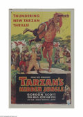 Movie Posters:Adventure, Tarzan's Hidden Jungle (RKO, 1955)...