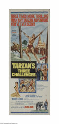 Movie Posters:Action, Tarzan's Three Challenges (MGM, 1963)...