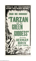 Movie Posters:Adventure, Tarzan and the Green Goddess (Burroughs-Tarzan-Enterprise, 1938)...