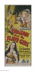 Movie Posters:Action, Tarzan and the Slave Girl (RKO, 1950)...