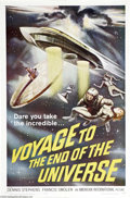 Movie Posters:Science Fiction, Voyage to the End of the Universe (AIP, 1963)...